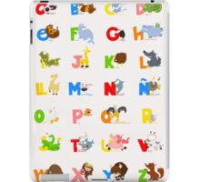 ABC (spanish) iPad Case/Skin