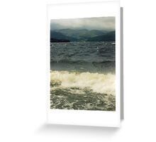 Not always the Bonnie,Bonnie Banks. Greeting Card