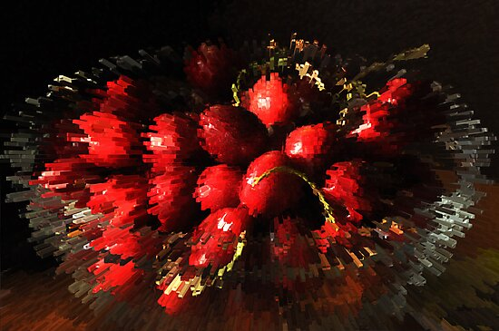 An explosion of cherries by Heather Thorsen