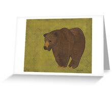 Storybook Bear Greeting Card