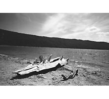 Lake near Pinedale and Green River WY Photographic Print