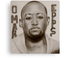 omar epps Canvas Print
