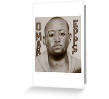 omar epps Greeting Card