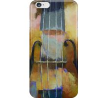 Violin Painting iPhone Case/Skin