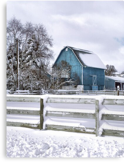 Winter Blues by wiscbackroadz