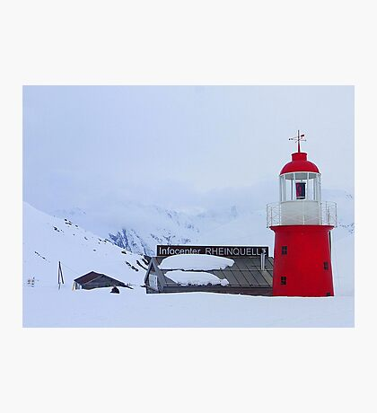 Oberalp Pass.  Photographic Print