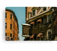 Old Buildings in Boston Canvas Print