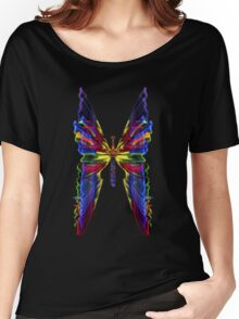 BUTTERFLIED LIGHT Women's Relaxed Fit T-Shirt