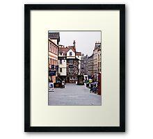 John Knox House Framed Print