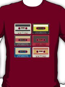 color audio tape T-Shirt