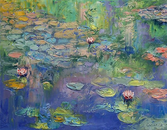 Water Garden by Michael Creese