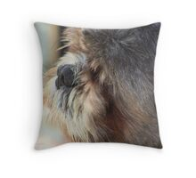 Do You Think This is My Good Side? Throw Pillow