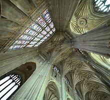 The Beauty of Strength - Canterbury Cathedral - Kent Series by LeeMartinImages
