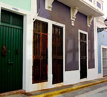 Old San Juan, Puerto Rico by maurameems