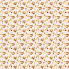 Citrus Fox Pattern by SaradaBoru