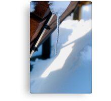 Piercing Snow Canvas Print