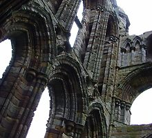 Whitby Abbey, Patchwork Stones ~ Whitby, Yorkshire 2008 by Samantha Creary