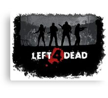 Left 4 Dead Canvas Print