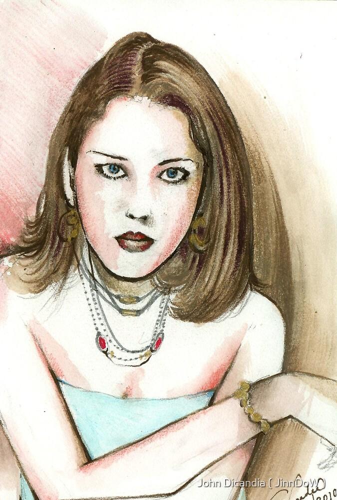 Wendy L ( Colour ) by John Dicandia ( JinnDoW )