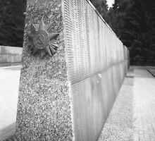 Tomsk Russia WW II Memorial Inscriptions by Gordon Lukesh