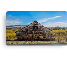 Old House in the Russian River Valley Metal Print