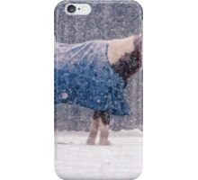 Equine Snowstorm Two iPhone Case/Skin