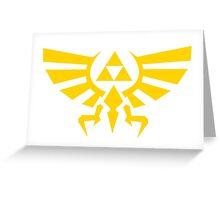 Triforce Emblem Greeting Card