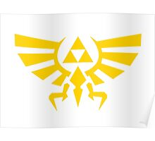 Triforce Emblem Poster