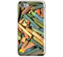 oil pastels consumed iPhone Case/Skin