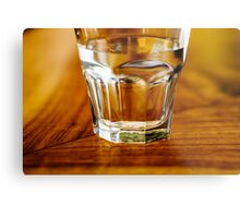 Have a glass of water Metal Print
