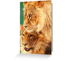 Brothers 2 Greeting Card