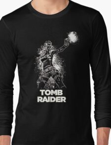 Lara Croft Tomb Raider Long Sleeve T-Shirt