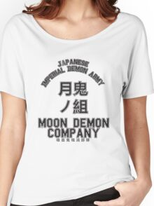 Moon Demon Company (Black) Women's Relaxed Fit T-Shirt