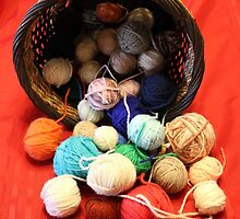 Knitting Yarn by jill815