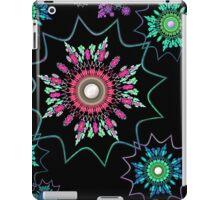 Black Light Flower Power iPad Case/Skin