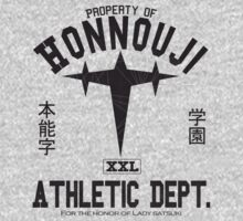Honnouji Athletics (Black) by Oathkeeper9918