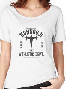 Honnouji Athletics (Black) Women's Relaxed Fit T-Shirt