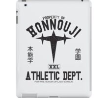 Honnouji Athletics (Black) iPad Case/Skin
