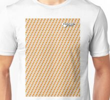 A Clockwork Orange Pattern with Logo Unisex T-Shirt
