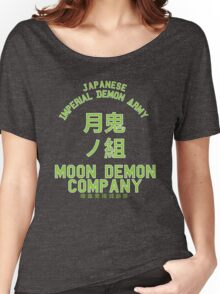 Moon Demon Company (Green) Women's Relaxed Fit T-Shirt