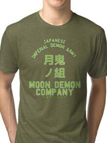 Moon Demon Company (Green) Tri-blend T-Shirt
