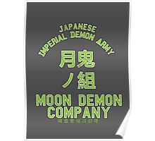 Moon Demon Company (Green) Poster