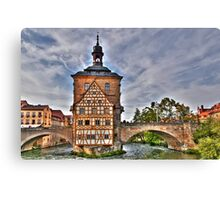 Bamberg Old Town Hall or Altes Rathaus Canvas Print