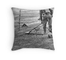 Mine Sweeping Throw Pillow