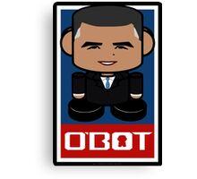 Renegade O'bamabot Toy Robot 1.1 Canvas Print