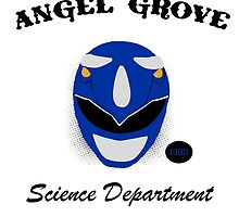 Blue Power ranger Science department  by lilkimmi27