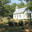 """""""Cades Cove Missionary Baptist Church""""... prints and products by © Bob Hall"""