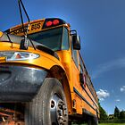 School Bus In Detail by Kyle Johnstone