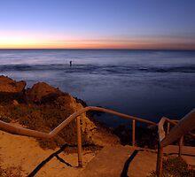 The Last Fisherman, Perth, Western Australia. by Stewart Allen