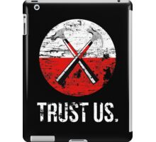 Pink Floyd TRUST US worn iPad Case/Skin